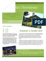 Sutton WestCoast - Whistler Summer Newsletter