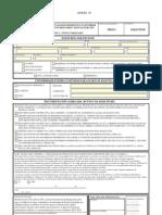 Formulario de solicitud de becas para la realización de estudios universitarios oficiales, intercambios universitarios y estudios de formación profesional en Galicias