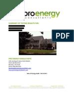 Energy Audit Complete PDF Report