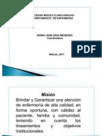 Horizonte Institucional Clinica Maria Mjose