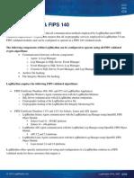 LogRhythm FIPS Data Sheet