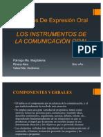 Instrumentos Comunicacion Oral