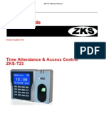 ZKS T2 Software Manual