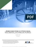 Mason Oil Tax Deficit Study