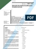 TCA1_NBR13531-95-Projetos de Edificações