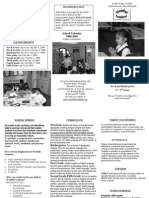WFA BW Printable Trifold Brochure