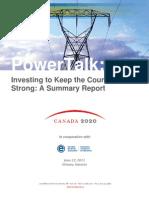 Canada 2020-CEA PowerTalk Symposium Report