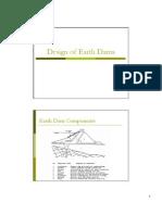 Design Earth Dams