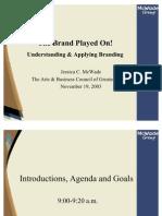 11-19-03 ArtsBranding