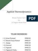 Applied Thermodynamics 2