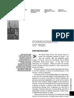 Baudrillard Pornography of War