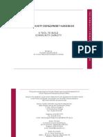 THE COMMUNITY DEVELOPMENT HANDBOOK - A TOOL TO BUILD COMMUNITY CAPACITY
