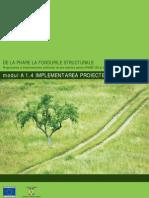 A1.4. implementarea proiectelor