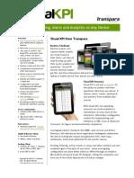 Visual KPI Datasheet v4 - July 2011