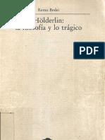 Bodei, Remo - Holder Lin, La Filosofia y Lo Tragico