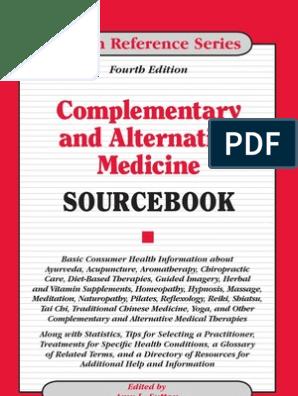 Complementary & Alternative Medicine Source Book 2010