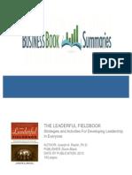 The Leaderful Fieldbook