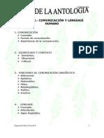 Antología - Expresión Oral y Escrita