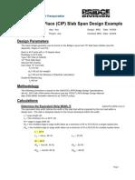 Design Slab Spans