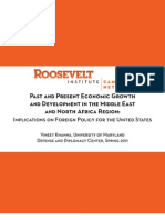Past and Present Economic Growth and Development in the Middle East and North Africa Region