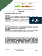 CÓDIGO DE ÉTICA PROFESIONAL DE LOS CONTADORES PÚBLICOS