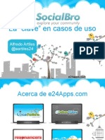 Herramienta Socialbro para Twitter en Campus Party Valencia 2011
