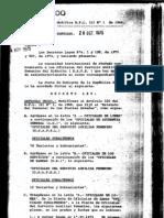 Las 63 Leyes Secretas de Pinochet (14)