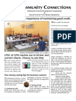 Community Futures Development Corporation of Central Interior First Nations Summer Newsletter