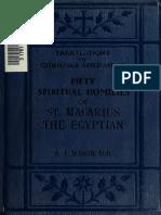 Mason. Macarius. Fifty spiritual homilies. 1921.