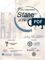 2011 State of the City Event Program