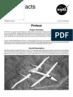 NASA Facts Proteus 1999