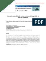 Aplicação da mecânica da fratura no estudo de integridade de um vaso de pressao