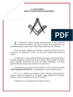 La Masoneria Tambien Llamada Francmasoneria