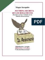 Incognito Magus La Doctrina Secreta de Los Rosa Cruces