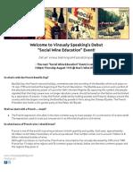 Vinously Speaking Wine Blog's Social Wine Education #1 - Bastille Day