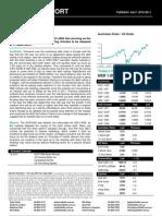 Australian Dollar Outlook 19 July 2011