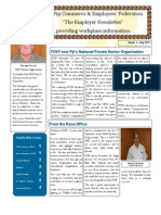 The Employer Newsletter - Issue 1