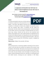 MOD CALL CENTER MINERAÇÃO DE DADOS
