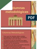 Columnas metodológicas
