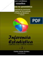 Inferencia No Paramétrica-Problemas Resueltos con pruebas de Chi-cuadrado
