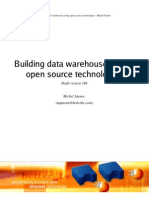 Building Data Warehouses Using Ope n Source Technologies