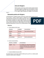 Demanda química de Oxígeno Protocolo