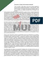 Propuestas Del Ejecutivo y El Futuro Del Movimiento Estudiantil