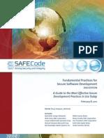 SAFECode Dev Practices