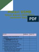 Materi USMB