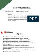 Análisis Instrumental Tema 1 Metodos opticos