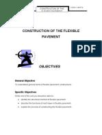 Unit 6 (  CONSTRUCTION OF THE FLEXIBLE PAVEMENT  )