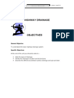 Unit 8 ( HIGHWAY DRAINAGE )