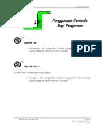 Unit 15 ( Penggunaan Formula Bagi Pengiraan )