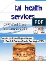 Dental Health Services in The Philippines